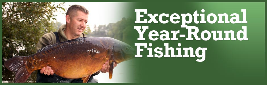 Exceptional year-round Fishing