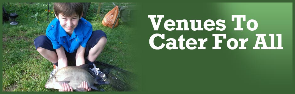 Venues to cater for all